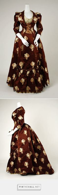 Dress attributed to House of Worth 1883 French | The Metropolitan Museum of Art