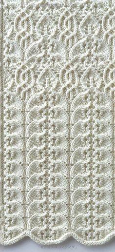 Various stitch patterns:«Knitting Pattern Book 260 by Hitomi Shida».