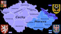 Moravia was a country in Central Europe way back when. Along with Bohemia and Silesia it is one of the traditional Czech lands. Prague Czech Republic, Central Europe, The Republic, Germany, Herb, Ancestry, Modern Buildings, Modern Architecture, Russia