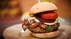 Celebrity chef, author & restaurateur, Adrian Richardson, cooks his Big Aussie Burger BBQ recipe over Heat Beads® BBQ Briquettes on highly rated TV show Good Chef Bad Chef.