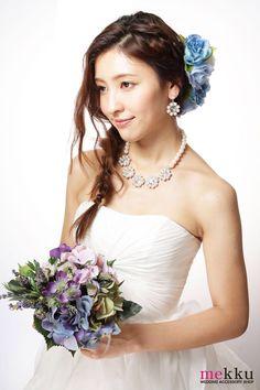 新作アイテム入荷^ ^☆ http://www.mekku.info/smp/index.html? #mekku #ウェディング #花冠 #花嫁ヘア #花飾り #wedding
