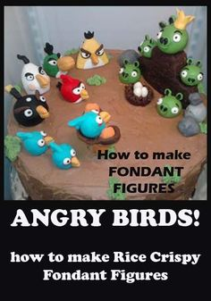 Angry Birds Cakes and Cupcakes! | Little Delights Cakes