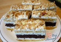 29 z Cake Recipes, Dessert Recipes, Czech Recipes, Oreo Cupcakes, Croissants, Sweet Desserts, Nutella, Tiramisu, Food And Drink