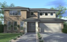 Wisdom Home Designs: Aspiration - Classic Facade. Visit www.localbuilders... to find your ideal home design in New South Wales