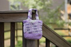 Girl's Bag Easter Gift Lilac Purse Toddler by julaCustomCreations
