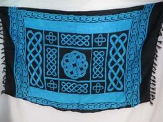 blue interlaced knotwork celtic sarong wholesale clothes wholesale $5.25 - http://www.wholesalesarong.com/blog/blue-interlaced-knotwork-celtic-sarong-wholesale-clothes-wholesale-5-25/