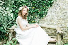 Beaufort Lace Dress from Chanticleer, Blue Ribbon Collection.  www.chanticleerbrides.co.uk    Hair by Stacey from Updoo.  Cake - Cotswold Finest Cakes  Flowers - Abbey Meadow Flowers  Model - Jenny Stewart