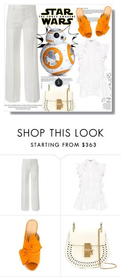 """""""Star Wars: The Force Awakens"""" by lidia-solymosi ❤ liked on Polyvore featuring Vince, Alexander McQueen, Sphero, Charlotte Olympia, H&M, Chloé, Nixon, starwars and contestentry"""