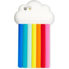 Stella Mccartney Rainbow iPhone 6/6s Case ($85) ❤ liked on Polyvore featuring accessories, tech accessories, phone cases, phones, cases, multi and stella mccartney