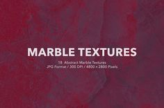 18 Abstract Marble Textures  by GOICHA on @creativemarket