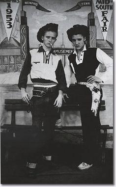 Elvis & Gene Smith 1953