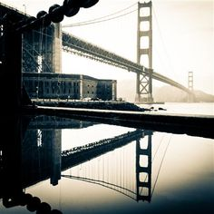 Original art for sale at UGallery.com | Golden Gate  by Peter Diggs | $325 | photography | 20' h x 20' w | http://www.ugallery.com/photography-golden-gate