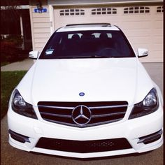 My new baby 2014 Mercedes c250 totally in love