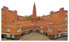 Amsterdam School, Amsterdam Netherlands, Places Of Interest, Abandoned Buildings, Beautiful Buildings, Design Art, Interior Design, Modern Architecture, Dutch