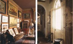 Sir Albert Richardson's Bedfordshire home as pictured in The World of Interiors, Sept. 2013, via Lee Stanton Blog