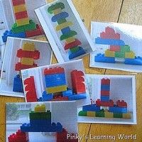 Take pictures of designs ,letters, numbers and shapes for them to copy Blocks+of+Fun!+40+Block+Activities+for+Kids