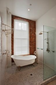 If my bathroom was bigger this would have been a no-brainer. I think everyone should do this. #bathroom