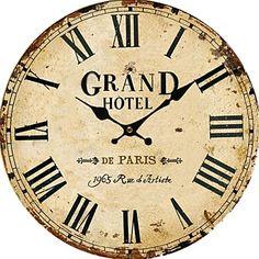 現代アートなモダン キャンバスアート 壁 壁掛け 時計  壁時計 レトロなスタイルのアンティークの壁時計【納期】お取り寄せ2~3週間前後で発送予定【fs04gm】ポイント【楽天市場】