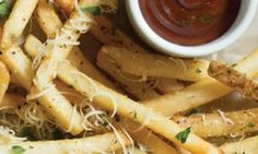 FREE Parmesan Truffle Fries at Macaroni Grill - I Crave Freebies Restaurant Deals, Truffles, Macaroni, Cravings, Carrots, Grilling, Meat, Chicken