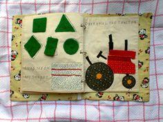 The Quiet Book Blog: Dolores's Quiet Book