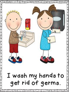 Germs Are ICK. They Make Me Sick! (Plus Handwashing Procedures)