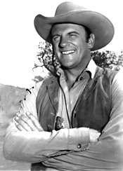 Gunsmoke (1955 - 1975) starring James Arness as Marshal Matt Dillon was the longest running western on TV