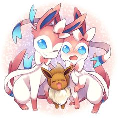 eevee and sylveon