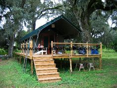 Private Serengeti, Florida - Exclusive Tents