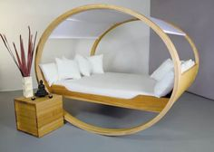 A rocking bed for adults - what fun!
