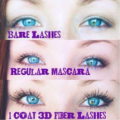 Oh those eyes!!!! Love Younique 3D mascara!! grab yours here: www.naomis3dlashlove.com  While your at it grab one of our eye pencils! Glide on, no smearing or bleeding!