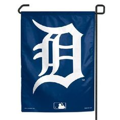 """Detroit Tigers 11""""x15"""" Garden Flag by Caseys. $7.95. Makes a great gift.. This is an officially licensed garden flag. The durable polyester flag measures 11"""" x 15"""" and is machine washable. The flag is designed to hang vertically from a garden flag pole or inside as wall decor. Poles sold separately.. Save 74% Off!"""