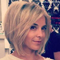20 Chic Bob Hairstyles for Fine Hair #BobHaircuts                                                                                                                                                                                 More