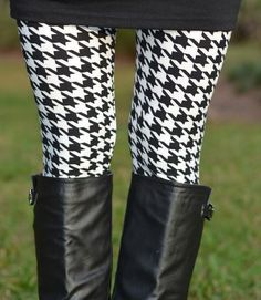 LEGGINGS HOUNDSTOOTH PRINT Size 2-12 Leggings NEW FREE SHIPPING! www.modernstyleboutique.com $12