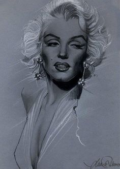 Marilyn Monroe Drawn by Laura Racero. Arte Marilyn Monroe, Marilyn Monroe Wallpaper, Marilyn Monroe Drawing, Marilyn Monroe Tattoo, Marilyn Monroe Photos, Gothic Fantasy Art, Norma Jeane, Pencil Art Drawings, Gravure