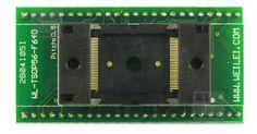 Adapter #TSOP56 F640 ZIF MX29LA129MHTI, E28F016SA, 28F016SASV http://www.programatory.com/index.php?p48,adapter-tsop56-zif-wl-tsop56-f640-tsop-56