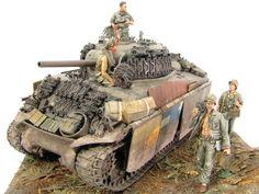 Sherman at Okinawa - 1945 by Kamil Feliks Sztarbala, http://sztarbala.com/index.php/nggallery/modelarstwo-redukcyjne/135-sherman-pto-okinawa-45?page_id=5