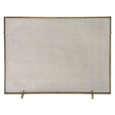 THE WELL APPOINTED HOUSE - Luxury Home Decor- Gita Fireplace Screen in Antique Brass