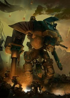 Warhammer 40k: FreeBlade official illustration