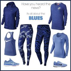 #getinspired_no #nikenews #welove #nikewomen #fashion #sportfashion #allblue