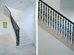 Brown + Brown Architects Planning Consultants Aberdeen Aberdeenshire Scotland: Refurbished stair in listed house, Ferryhill, Aberdeen