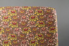 Elephant Crib Bedding Fitted Crib Sheet with by ViviAnnaBanana
