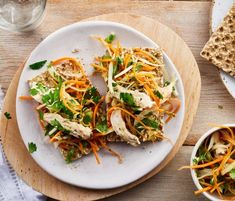 A delicious way to get some veg into your day! This recipe is high in protein of the energy in this recipe comes from protein). This recipe contains 1 of… Asian Coleslaw, Under 300 Calories, Fruits And Vegetables, High Protein, Dairy Free, Salads, Chicken, Ethnic Recipes, Lighter