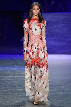 View the complete Naeem Khan Spring 2017 collection from New York Fashion Week. Fashion 2017, New York Fashion, Couture Fashion, Runway Fashion, Boho Fashion, High Fashion, Fashion Show, Punk Fashion, Fashion Online