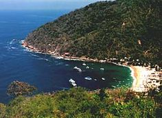 Yelapa, Mexico. A nice boat ride from Puerto Vallarta.  You can get away from civilization here.