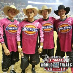 PBR Bull Fighters....the best! Las Vegas 2015