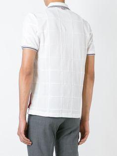 Thom Browne Camisa polo com recortes