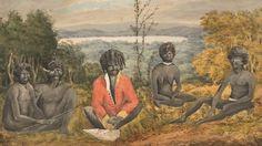 An Historical Account of the Colony of New South Wales. Aboriginal History, Aboriginal Culture, Aboriginal People, Aboriginal Art, Australian Painting, Australian Artists, Van Diemen's Land, Vintage Art Prints, Modern History