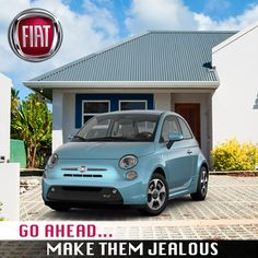 Why keep up, when you can make the Joneses jealous! Roll up in the all new Fiat and the italian design is sure to make them drool! Fiat 500 Pop, New Fiat, When You Can, Jealous, Design