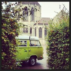 Kennybus out on a job in St Thibault Burgundy, didn't mind going to work that week! #love#bus
