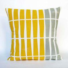Color Rhythm Pillow Cover | dotandbo.com #DotandBoDream